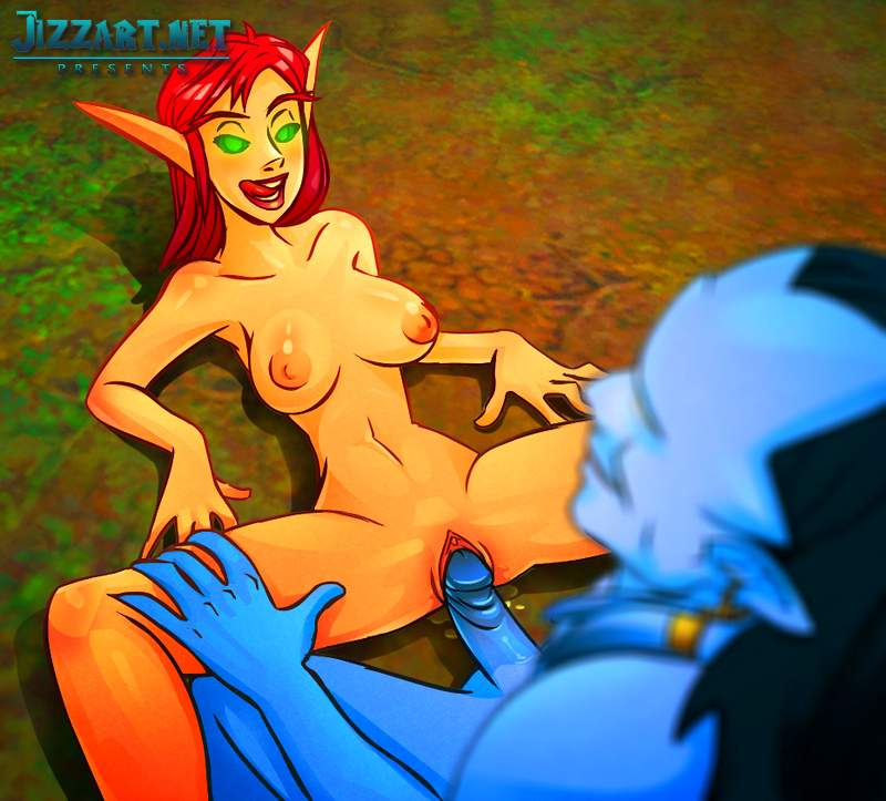 Night elf draenei naked hentai