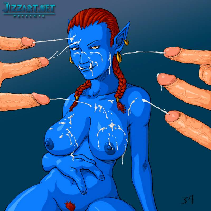 Warcraft character naked