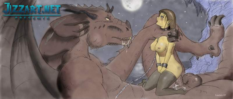 Erotic art fantasy comic