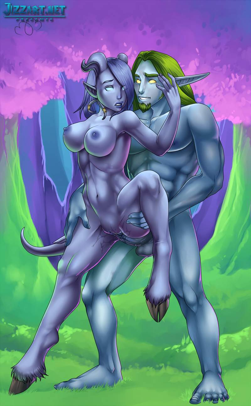 Sexy wow night elf porn