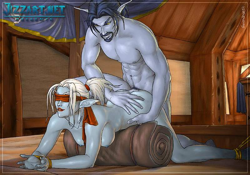 Elf sex world of warcraft anime