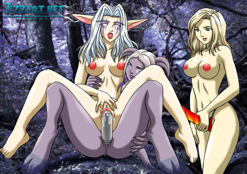White elf women