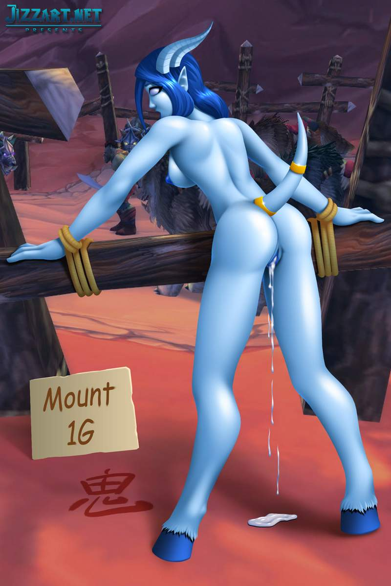 Wow draenei night elf human woman having sex wow porn
