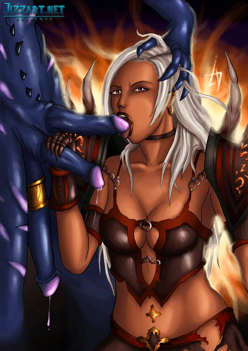 Erotic warcraft art