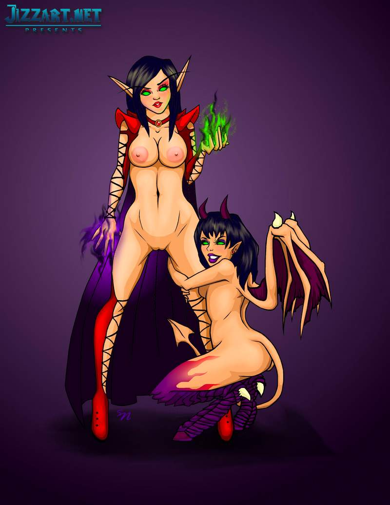 Nude girl night elves