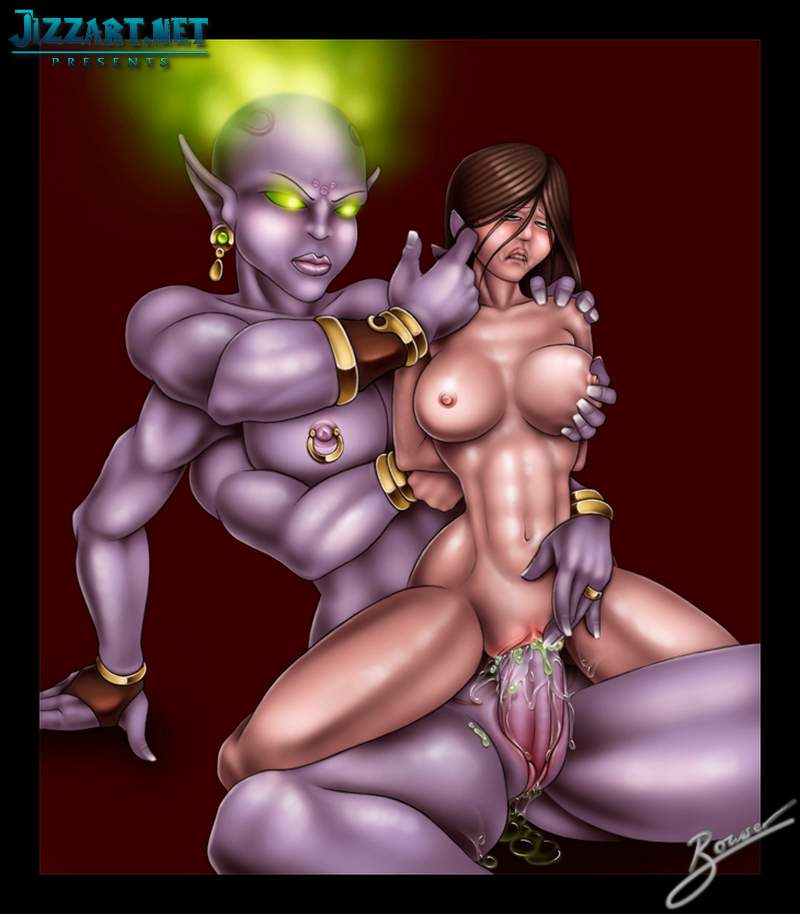 Male draenei nude