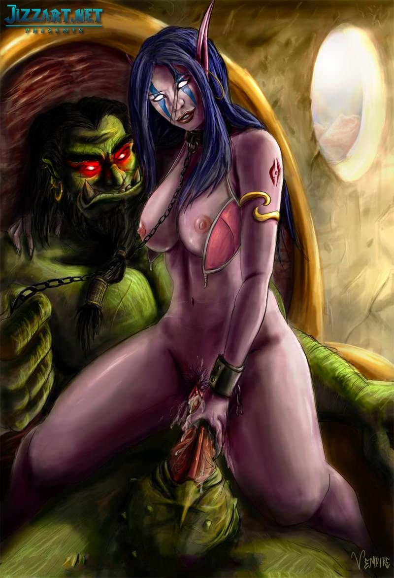 Jizzart draenei sex erotic picture