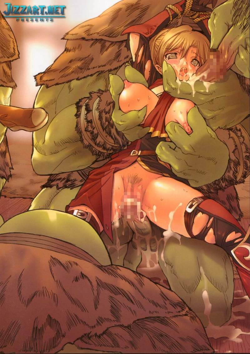 Orc abuse elf porn