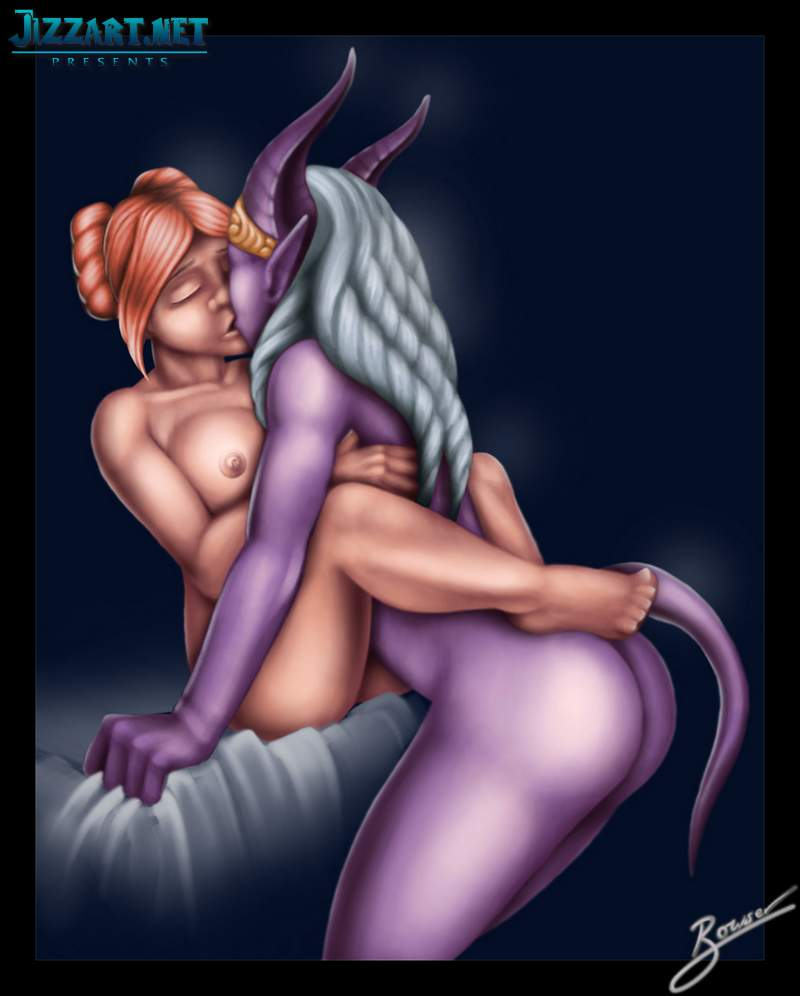 Elf sex digital 3d art