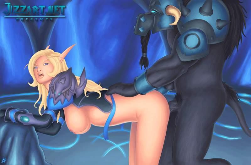 Elf woman fantasy nude