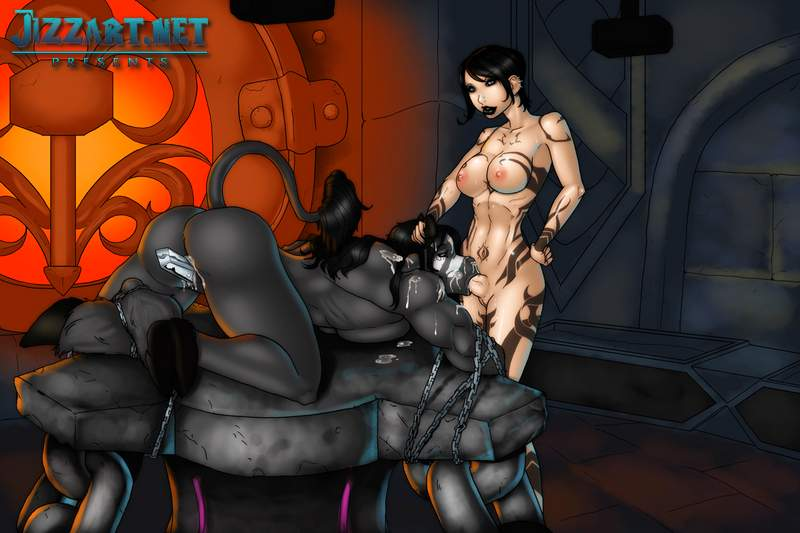 Free demons pleasure porn