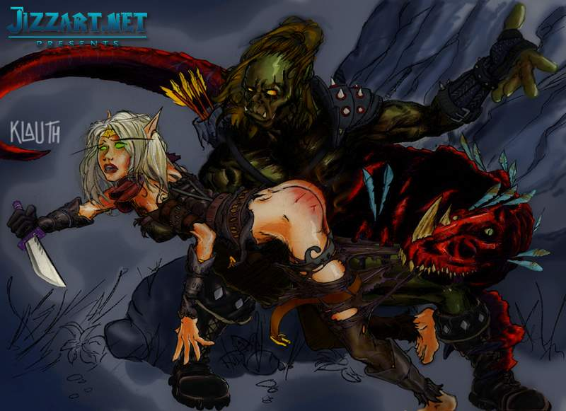 Blood warcraft elf hentai