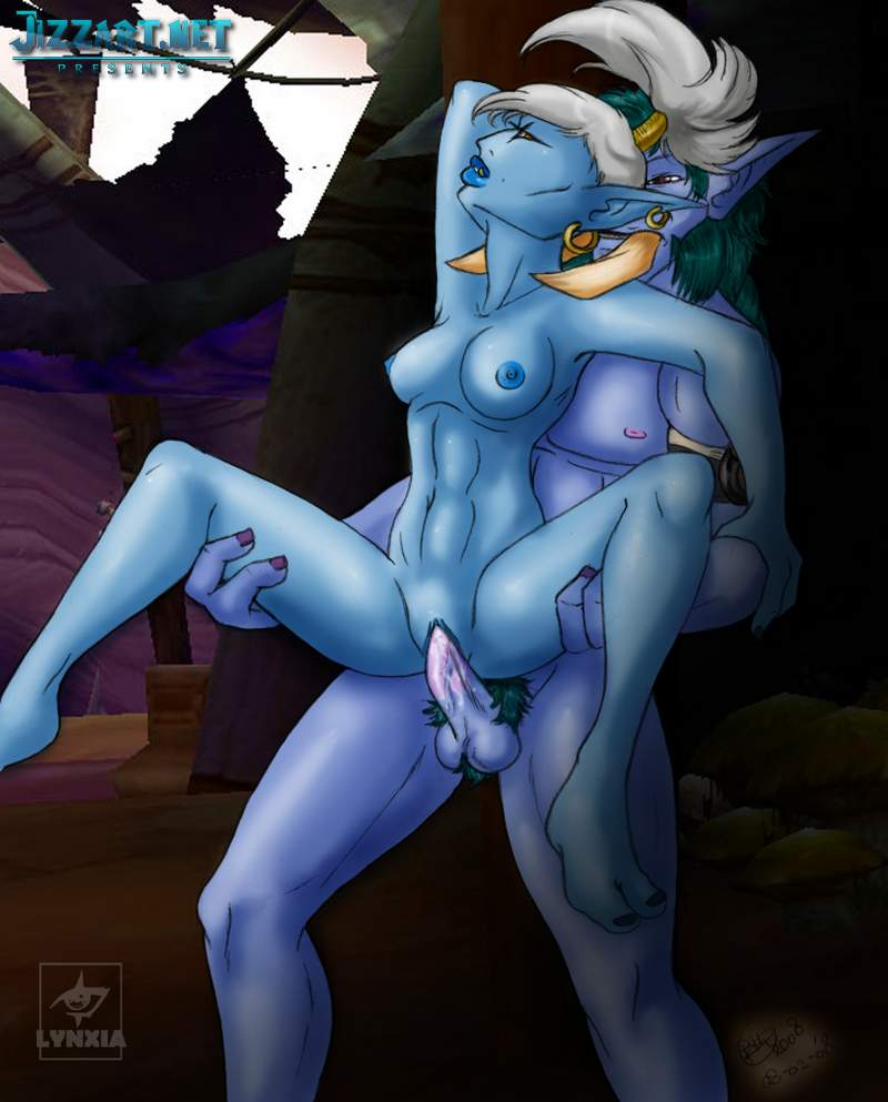 3d sexy night elf