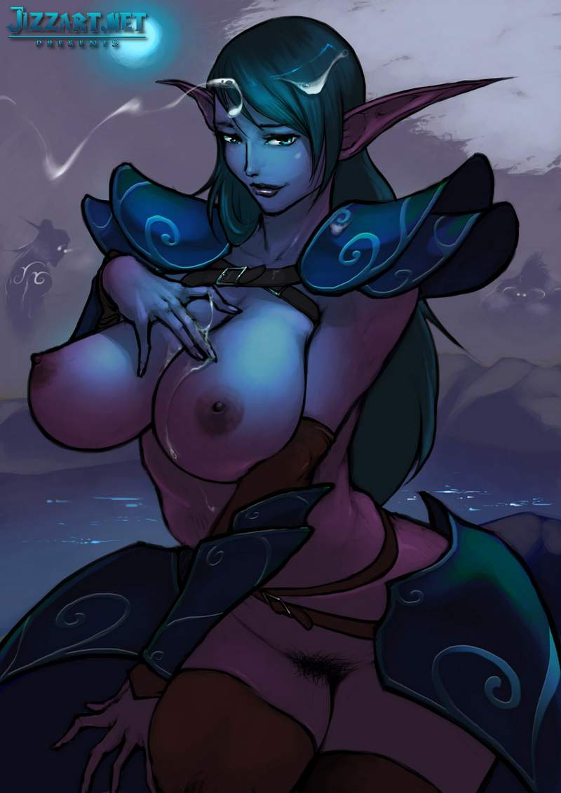 Creature fantasy sex video elf