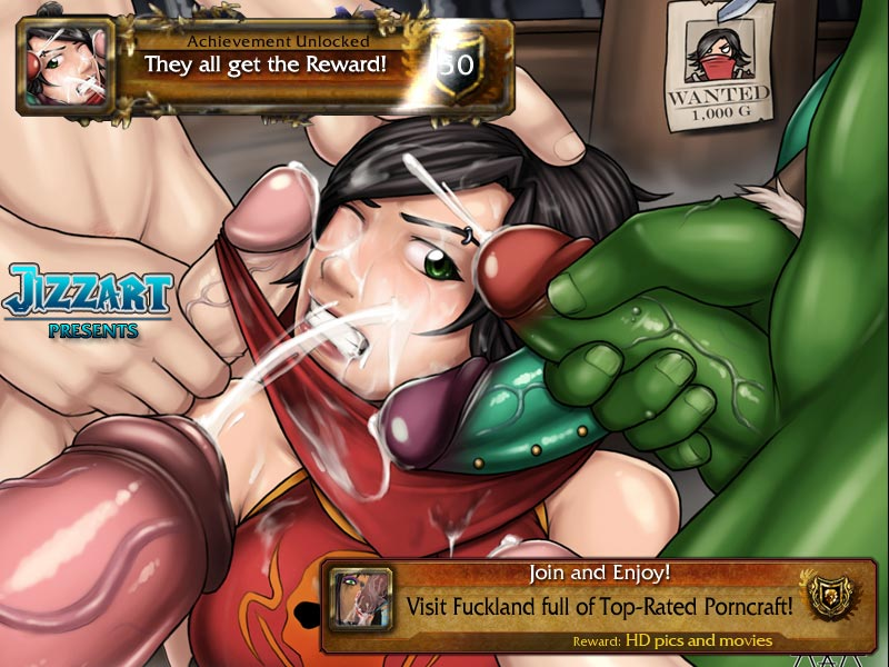 world of warcraft orc hentai