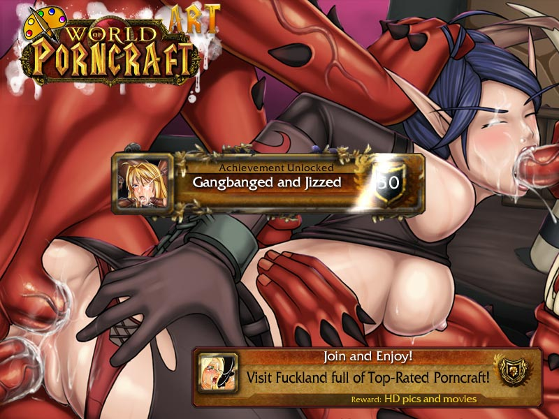 world of porncraft orc women
