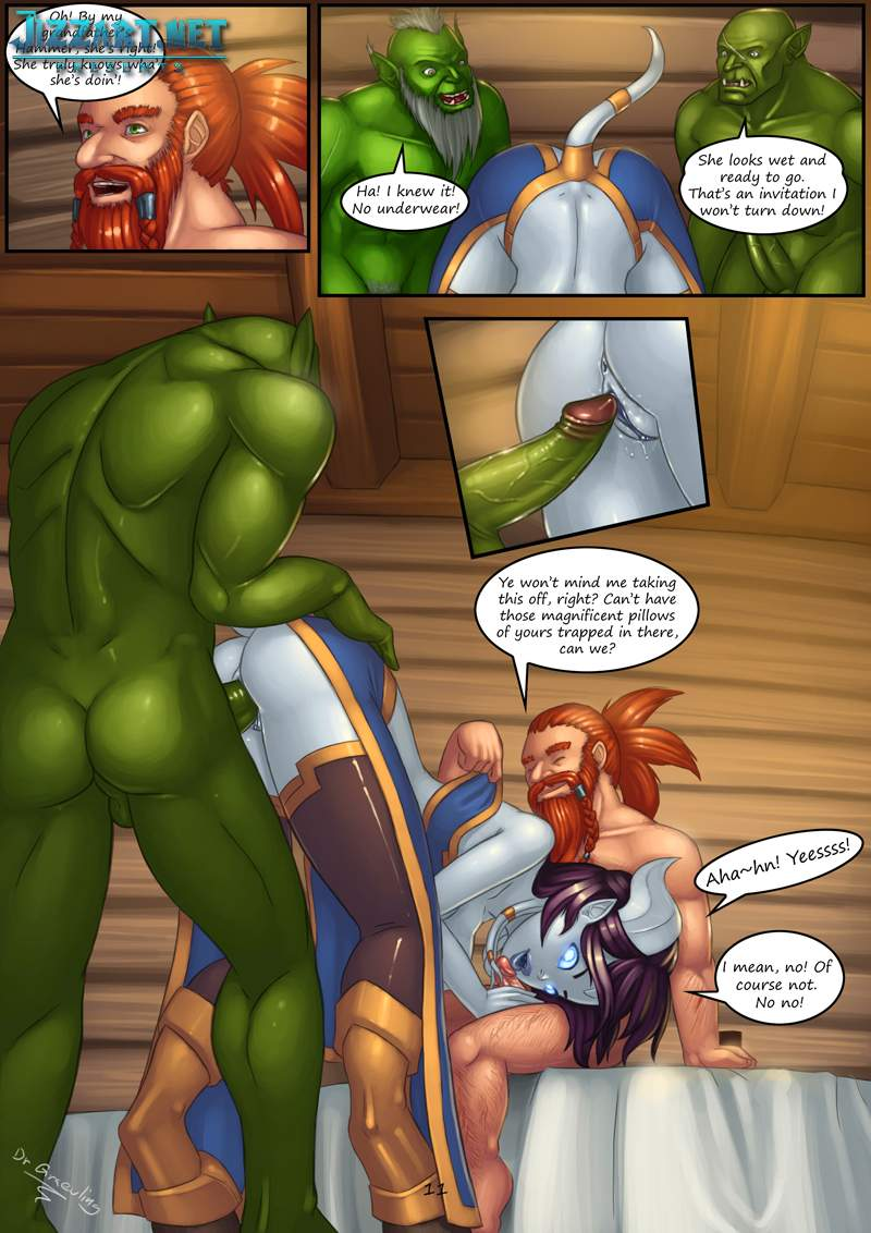 Troll orc dranei sex comic