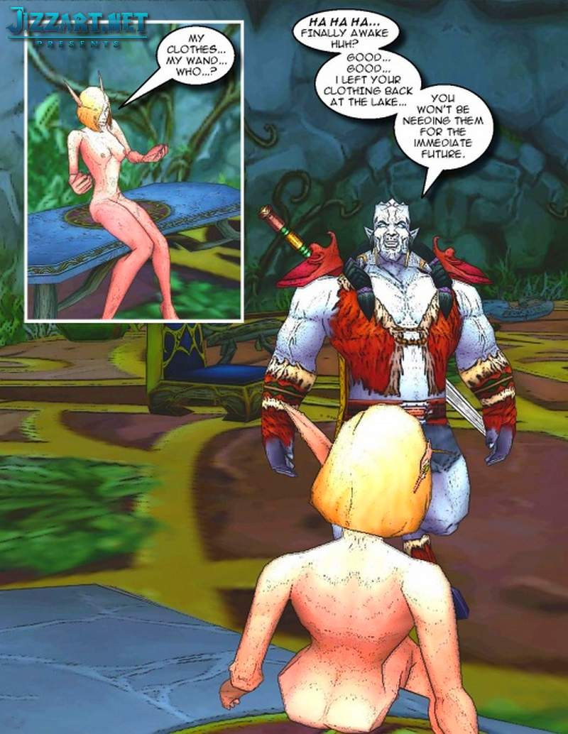 3d elf elves abused