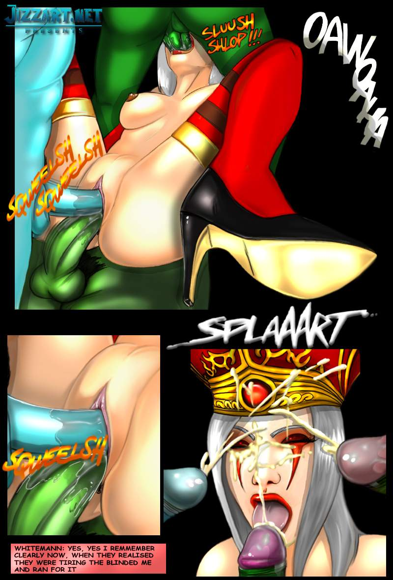 Blood elf porn comic