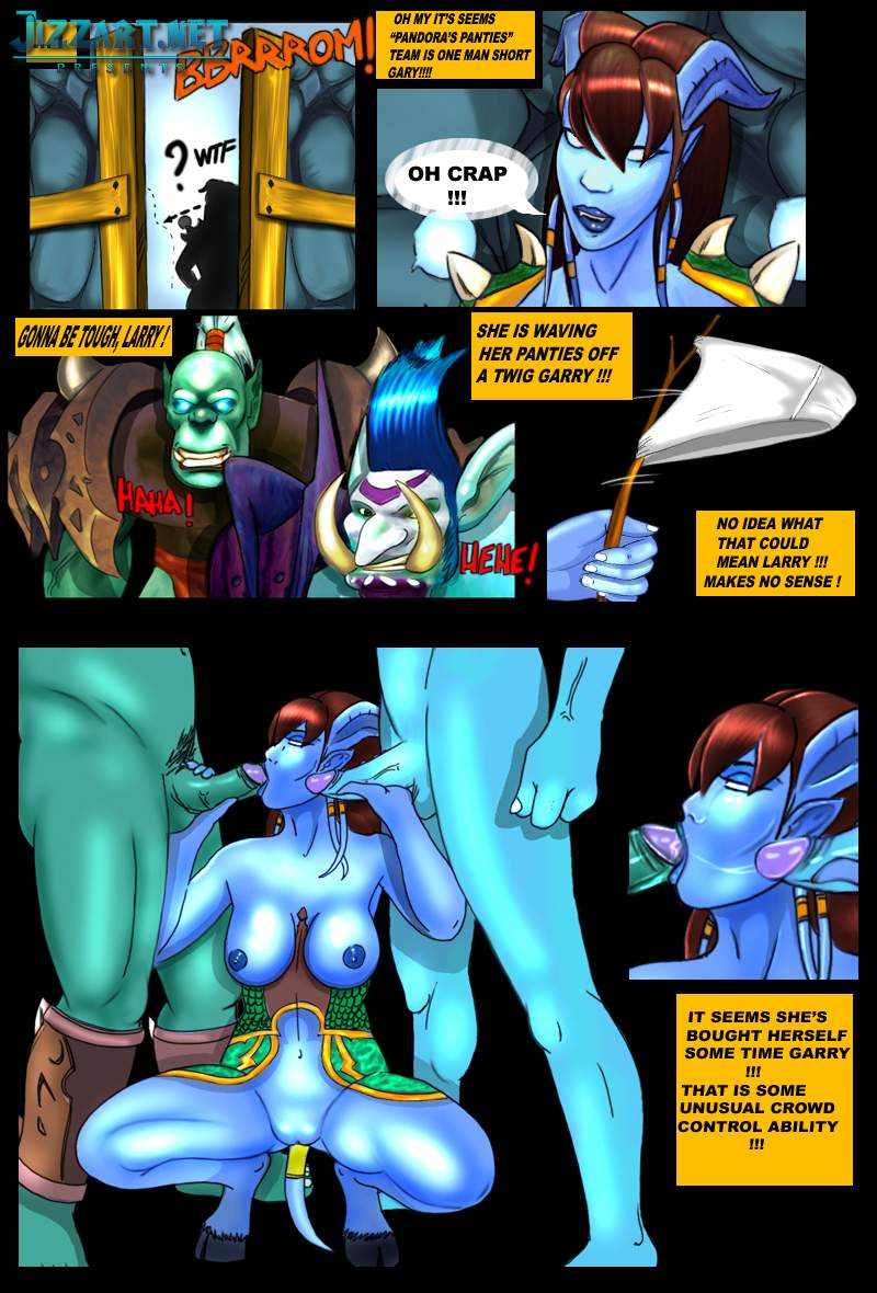Warcraft draenei sex stories