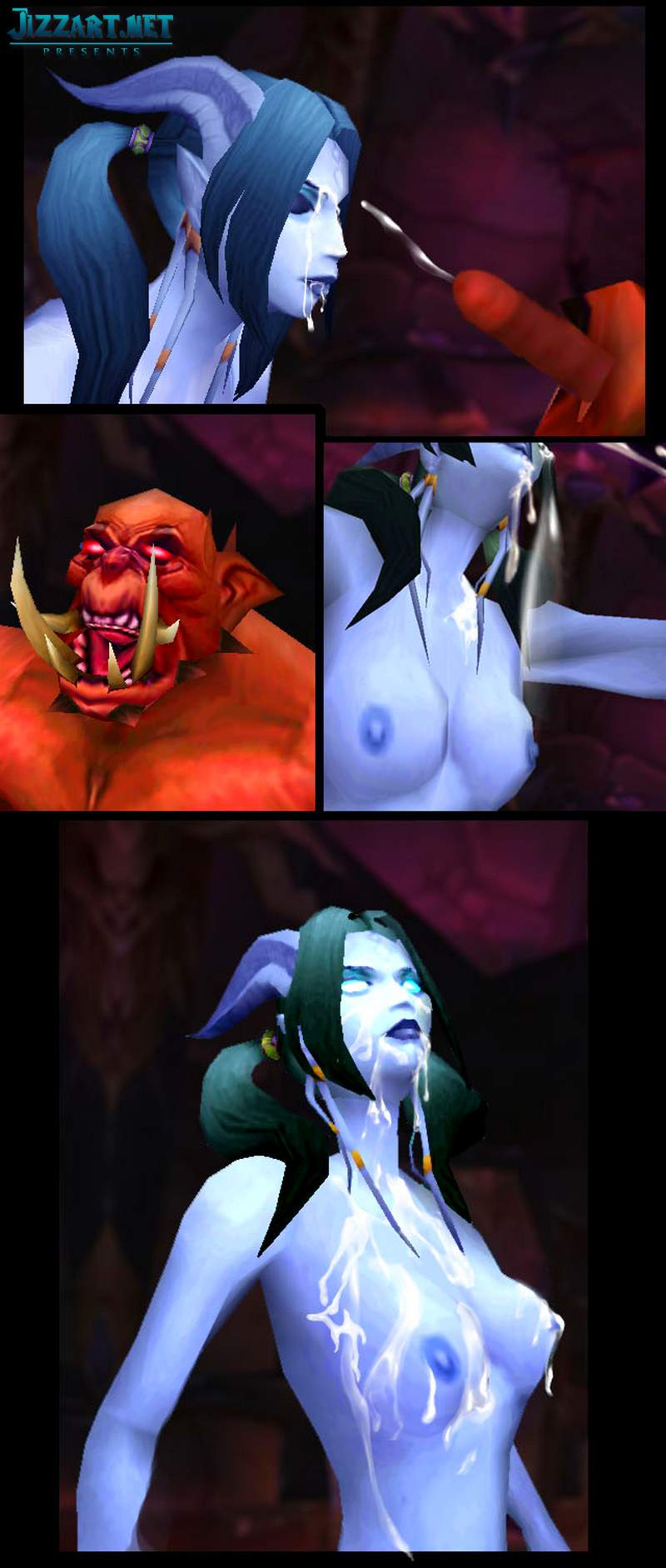 Wow too warcraft nude