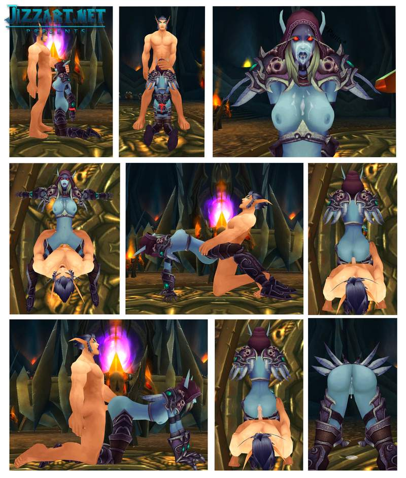 Female night elf nude patch