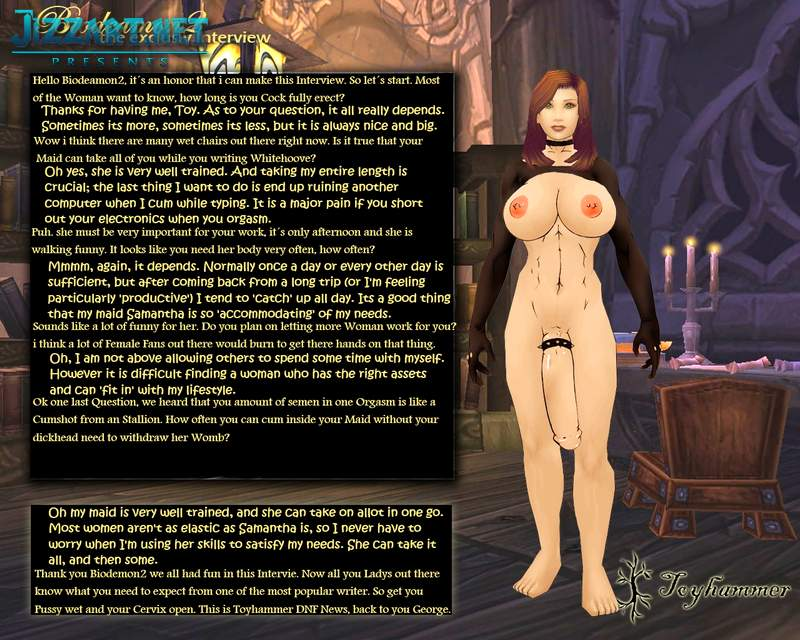 Really draenei naked female