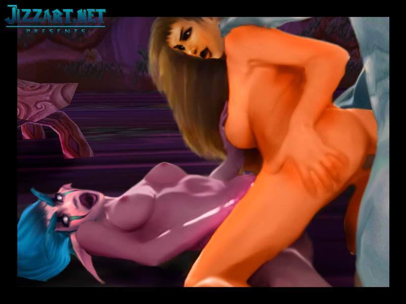 Wow nude night elf video