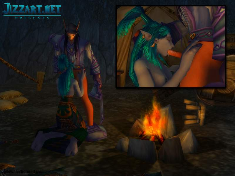Worgen getting fuck by elf