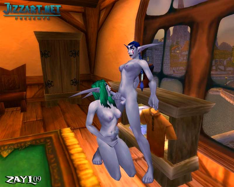 Wow draenei porn video