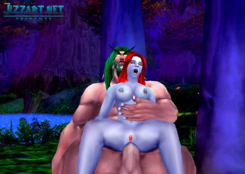 World of warcraft blood elf nude sex