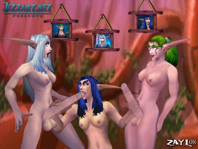 Free nude elf women