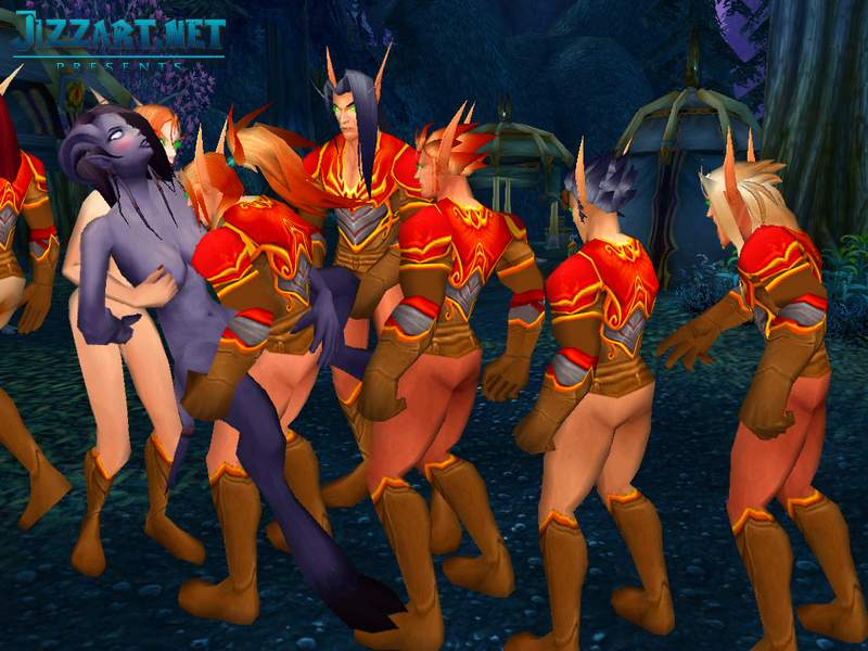 Night elf hentai abuse