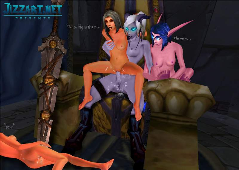 Orc fucks draenei and orc world of warcraft porn comic