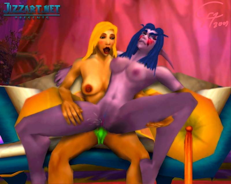 Night elf hd masturbation