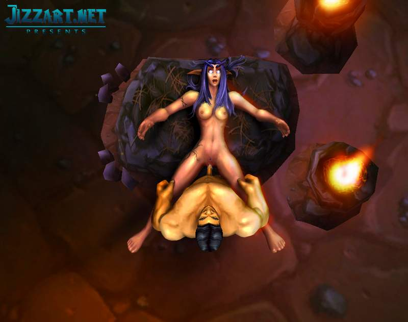 Sexy world of warcraft fan art