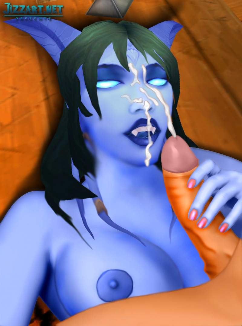 Naked night elf porn