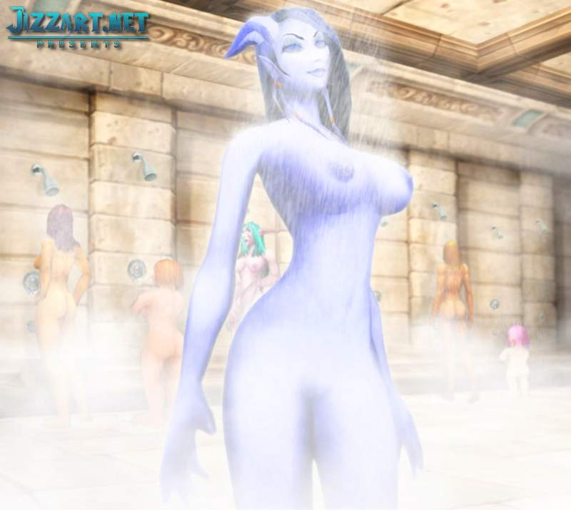 Night elf 3d hentai video
