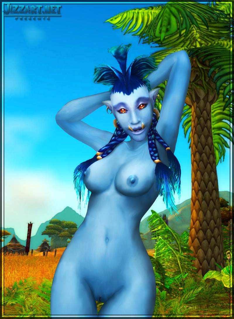 World of warcraft naked night elf