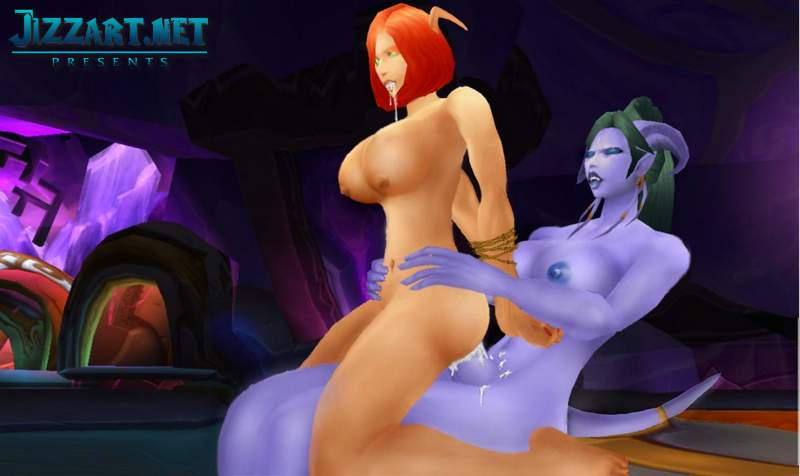 Wow night elf porn comics