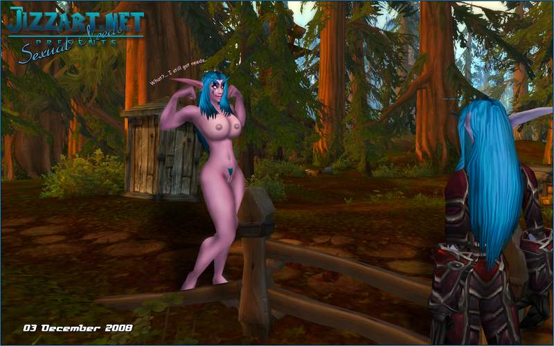 Baldurs gate naked elf