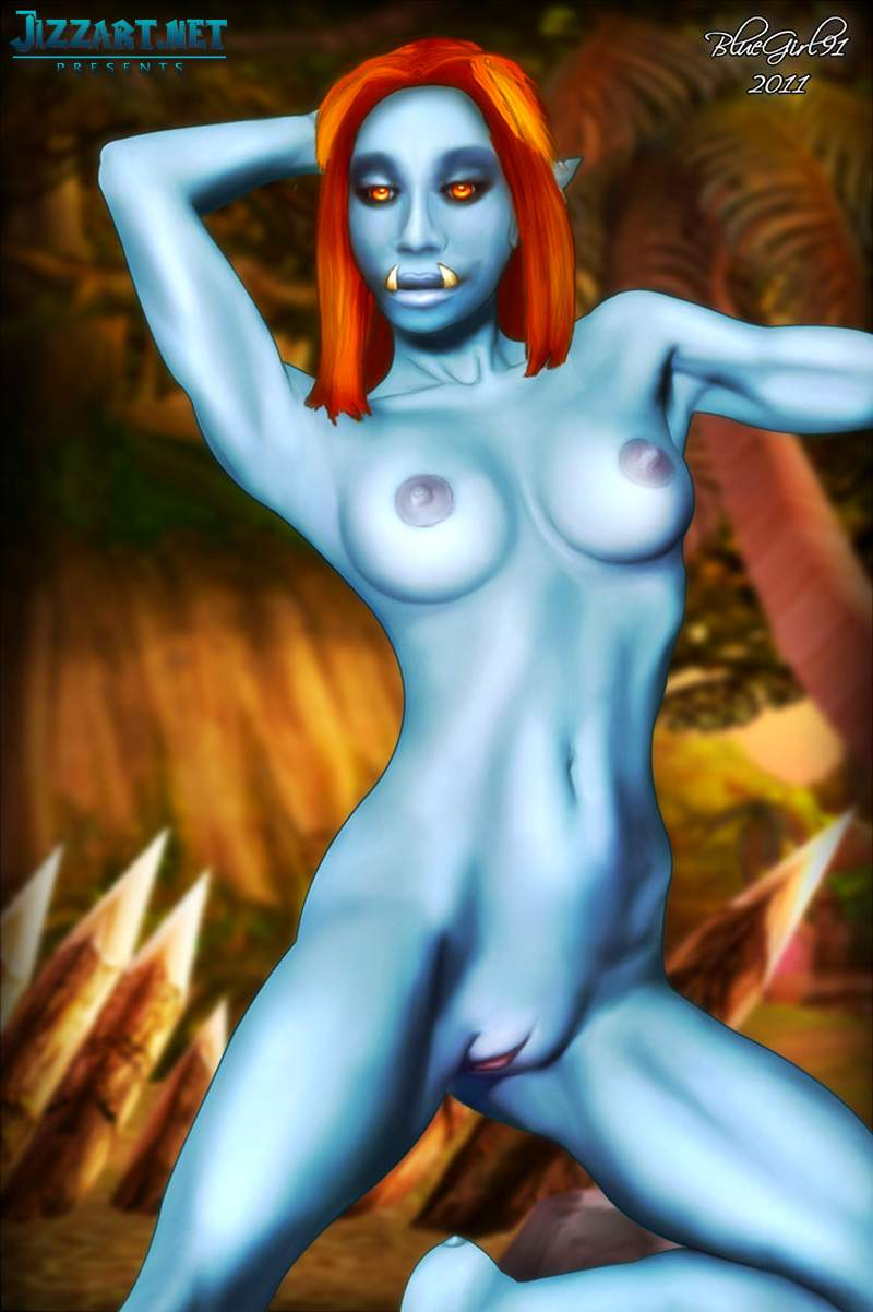 Cute warrior princess fucked by orcs