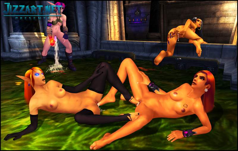 World of warcraft naked mods