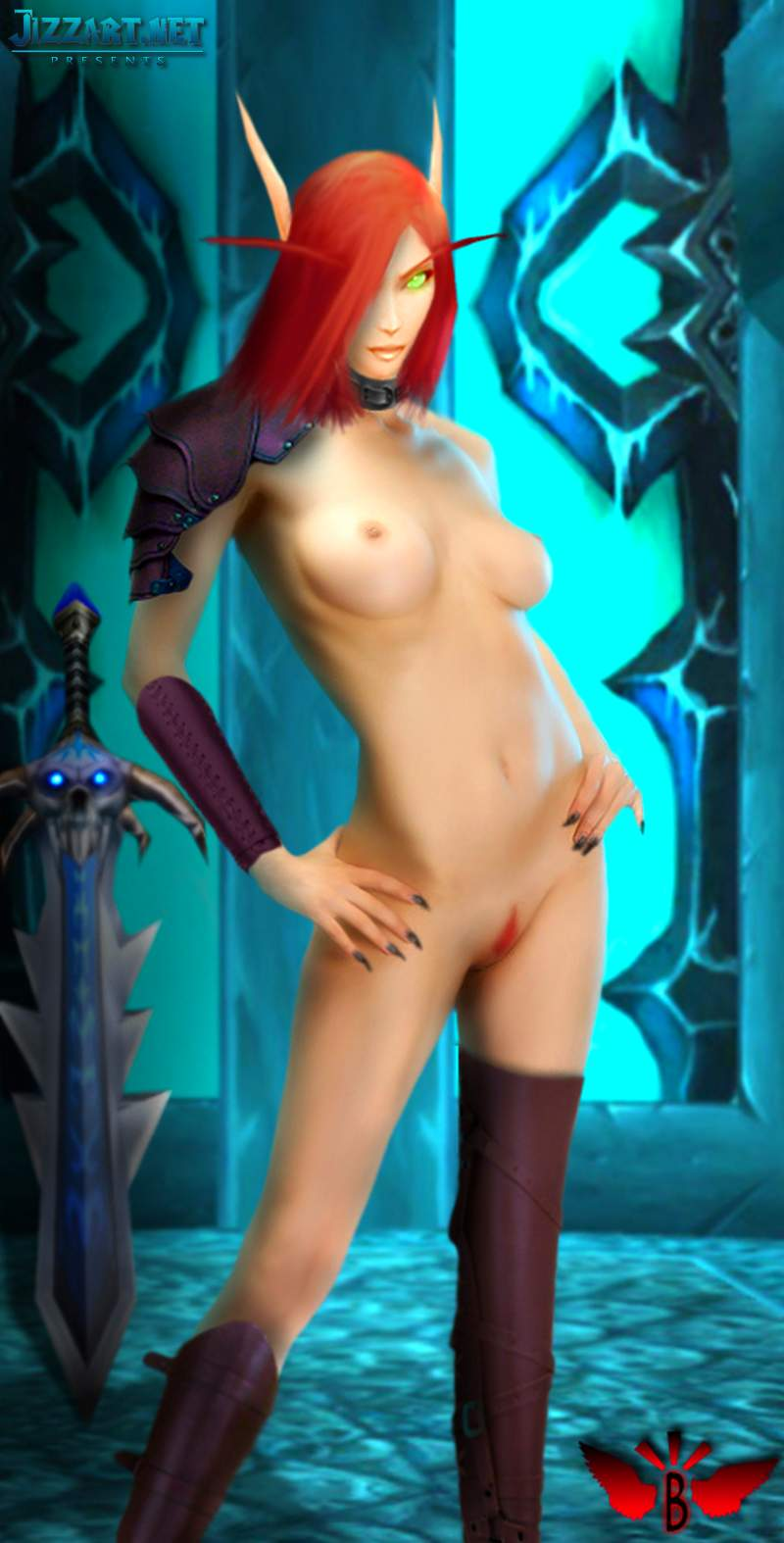 Sexy bloodelf valeera2 naked gallery
