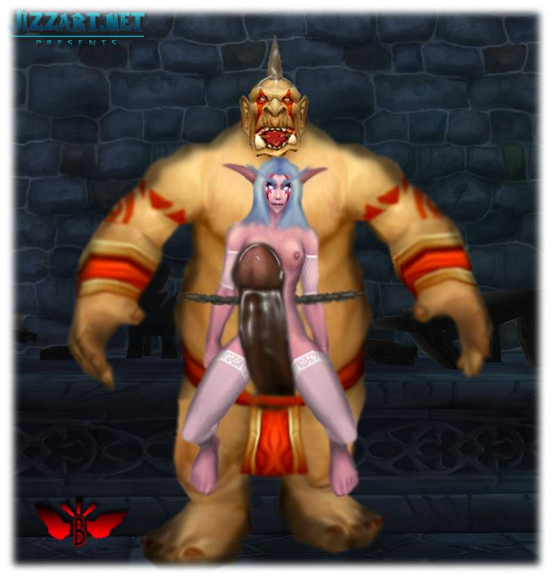 Orc warlocks in world of warcraft