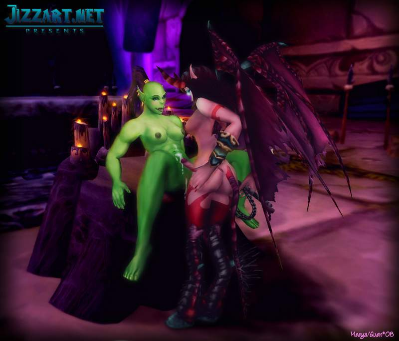 Sexy world of warcraft porn drawings
