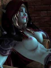 Warcraft hentai picture 2 goblins fucking night elf