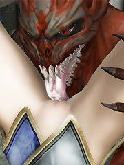 Hentai worgen lick that elf