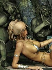 Monster sex fantasy art