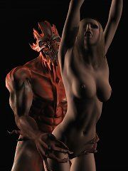 Xxx sex with a demon